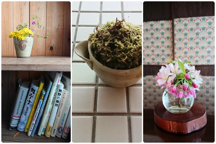 Small flower arrangements, Wakayama and Shizuoka Prefectures