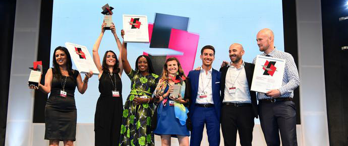 LafargeHolcim Awards 2017 for Middle East Africa prize handover ceremony in Nairobi. Winners celebrate their recognition in the world's most significant competition for sustainable design.