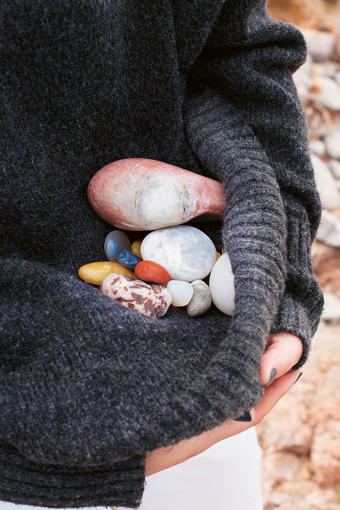 An agate cove on the rough Atlantic coastline offers a colourful bounty and a reminder of how mineral-rich Namibia is.