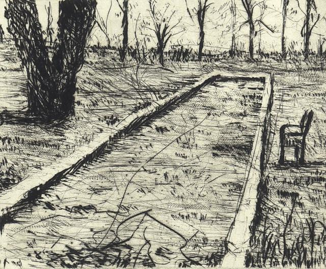Landscape Bocce by William Kentridge