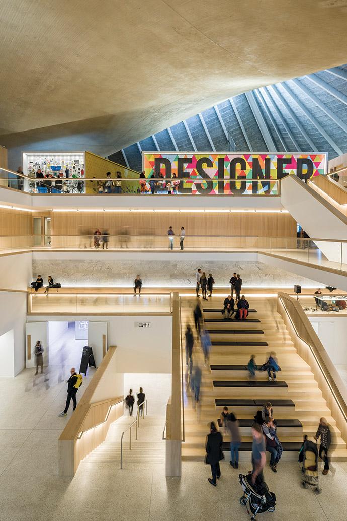 Design Museum in London. Image credit: Gareth Gardner