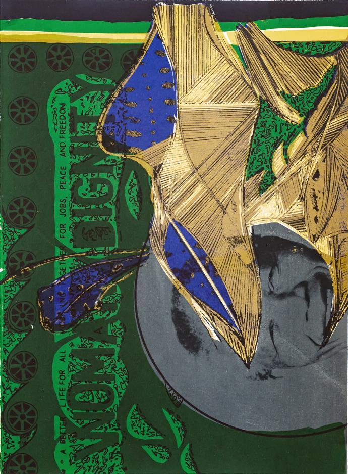 Adejoke Tugbiyele's limited-edition artwork for LATITUDES Art Fair entitled