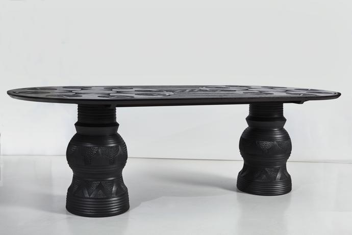 Imbizo dining table, photographed by Hayden Phipps.