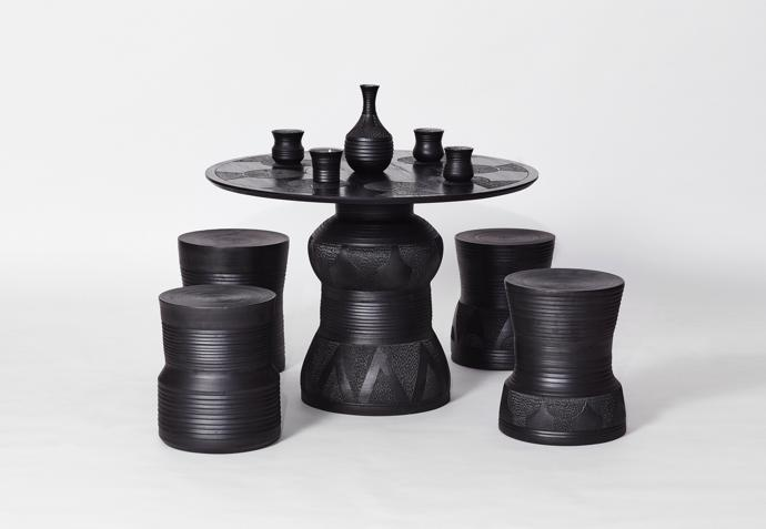 Imbizo table set photographed by Hayden Phipps.
