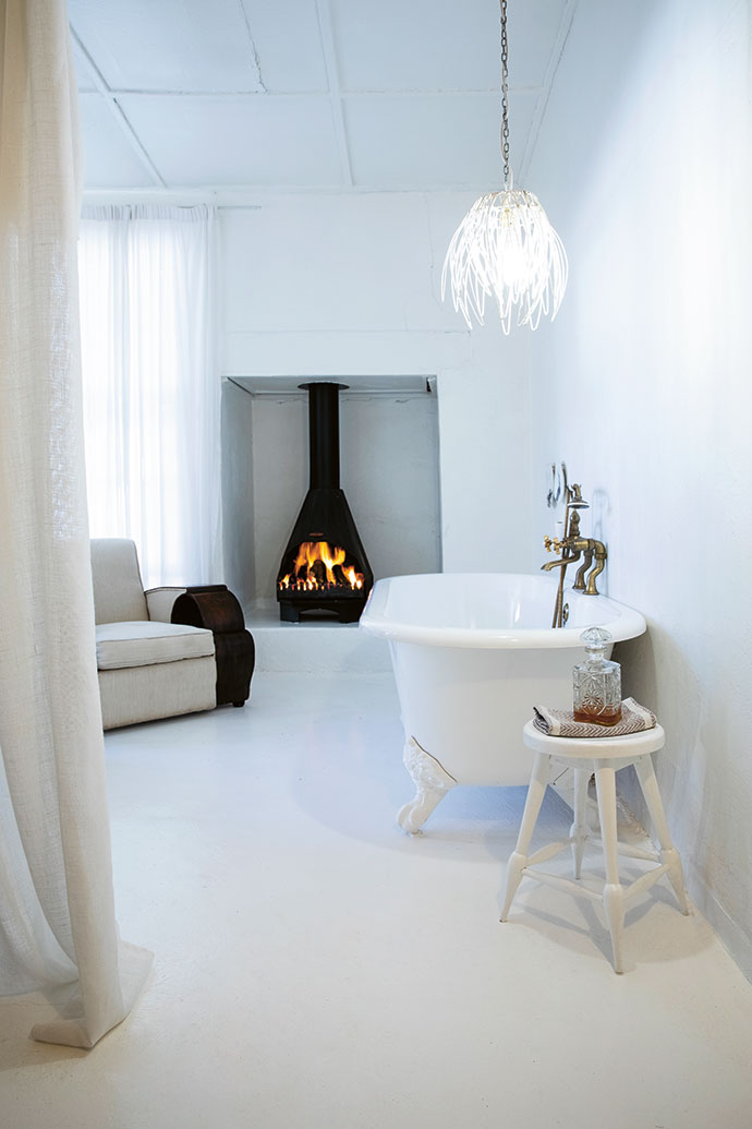 Cool in summer and warmed by wood-burning fireplaces in winter, the rooms are beautifully decorated and cosy.