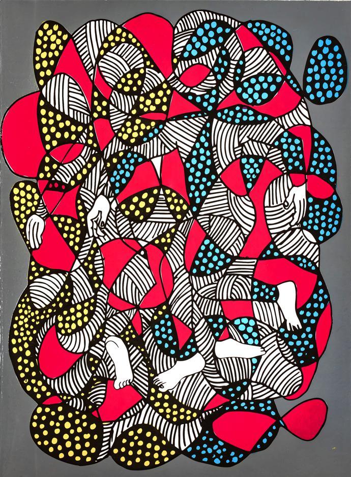 Sthenjwa Luthuli's limited-edition artwork for LATITUDES Art Fair  entitled