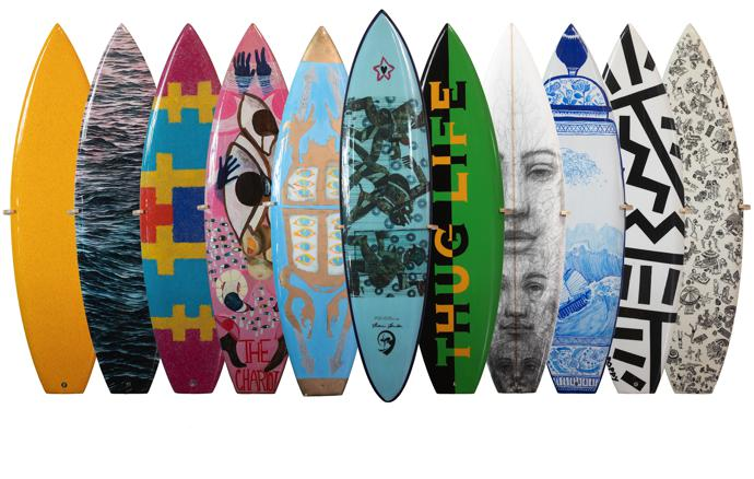 wavescape art board project