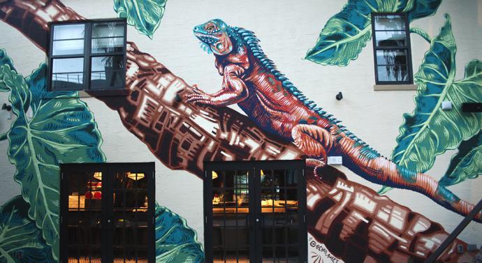 C Auret Iguana -Generator Hotel - Miami