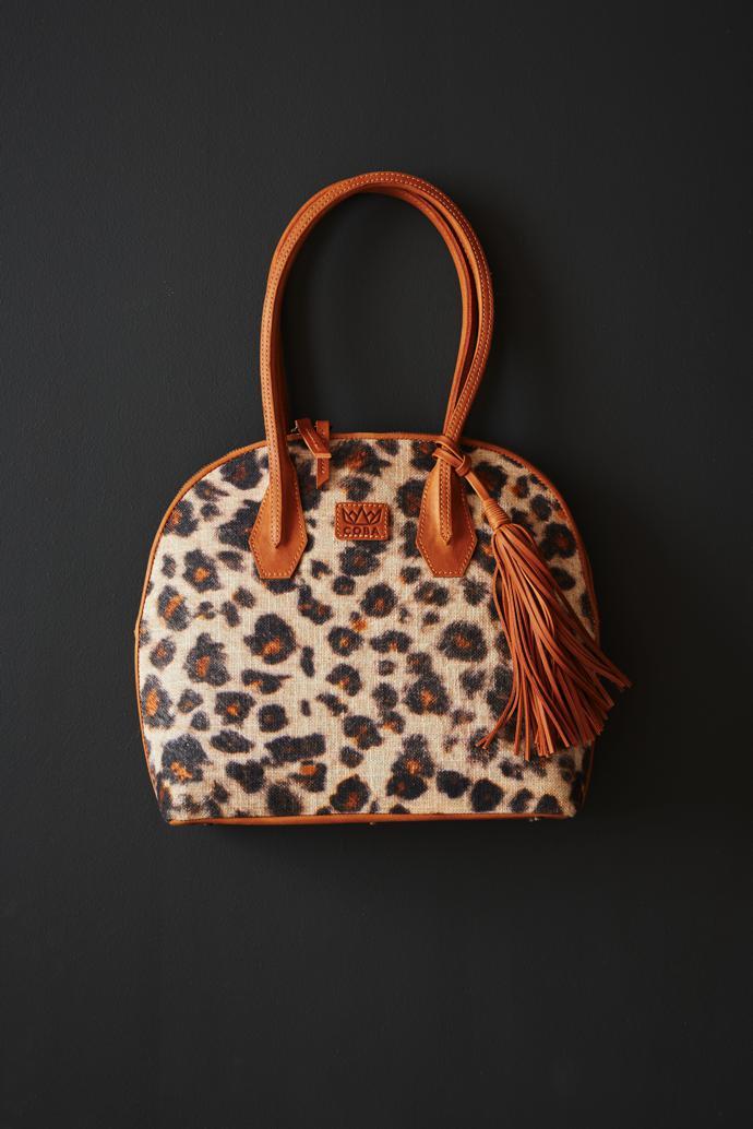 Coba Arch Bag in Cougar Leopard (36 x 31 x 11cm), R1 950