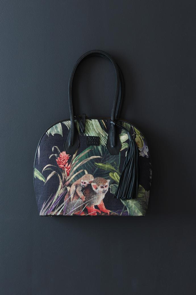 Coba Arch Bag in Vervet Black (36 x 31 x 11cm), R1 950
