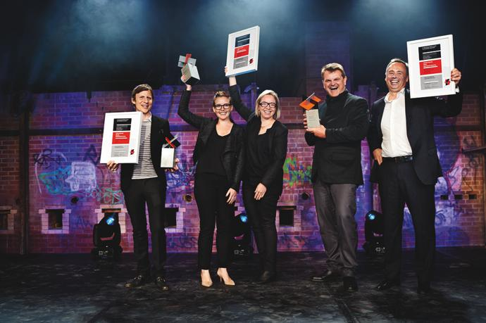 Winners of the LafargeHolcim Awards Silver 2014 for North America, presented in Toronto, Canada.