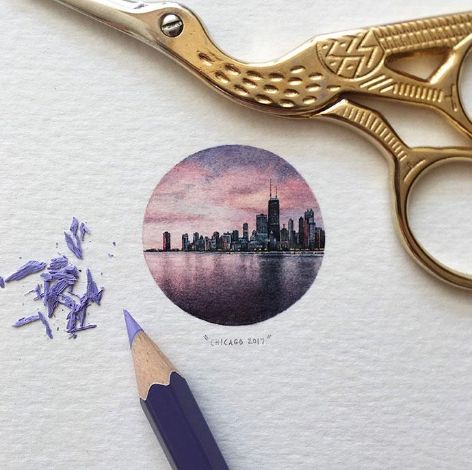 The Skyline, Chicago, 2017