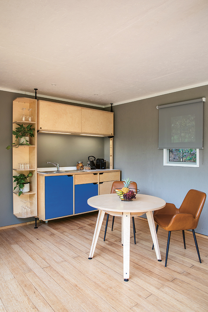 RAW Studios (rawstudios.co.za) created the built-in fixtures and furniture.