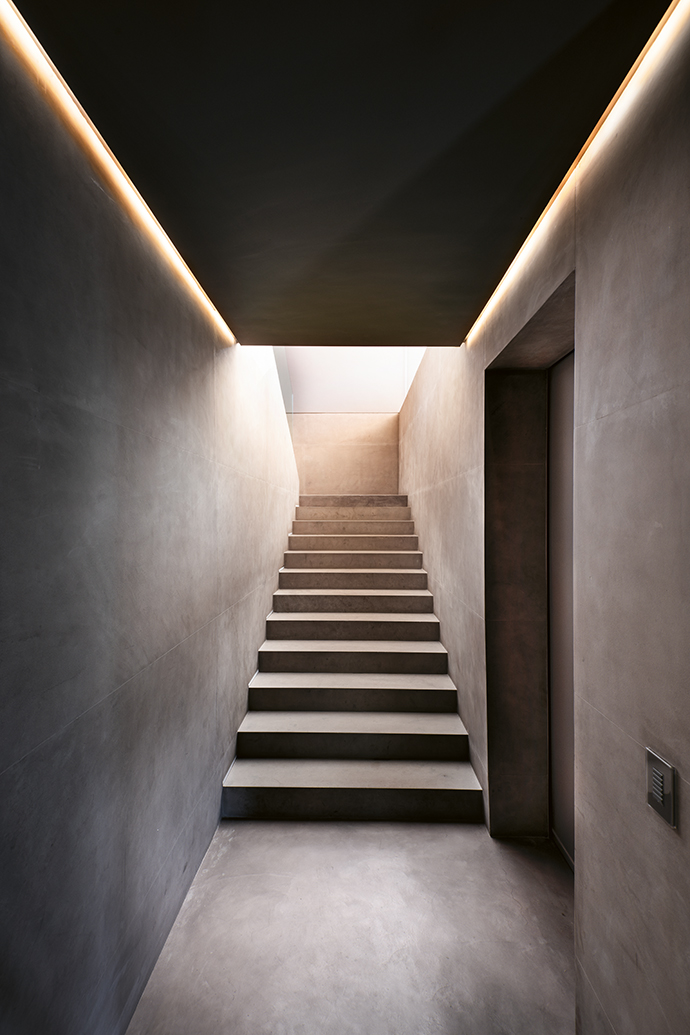 The stairways are one of Angie's favourite features.