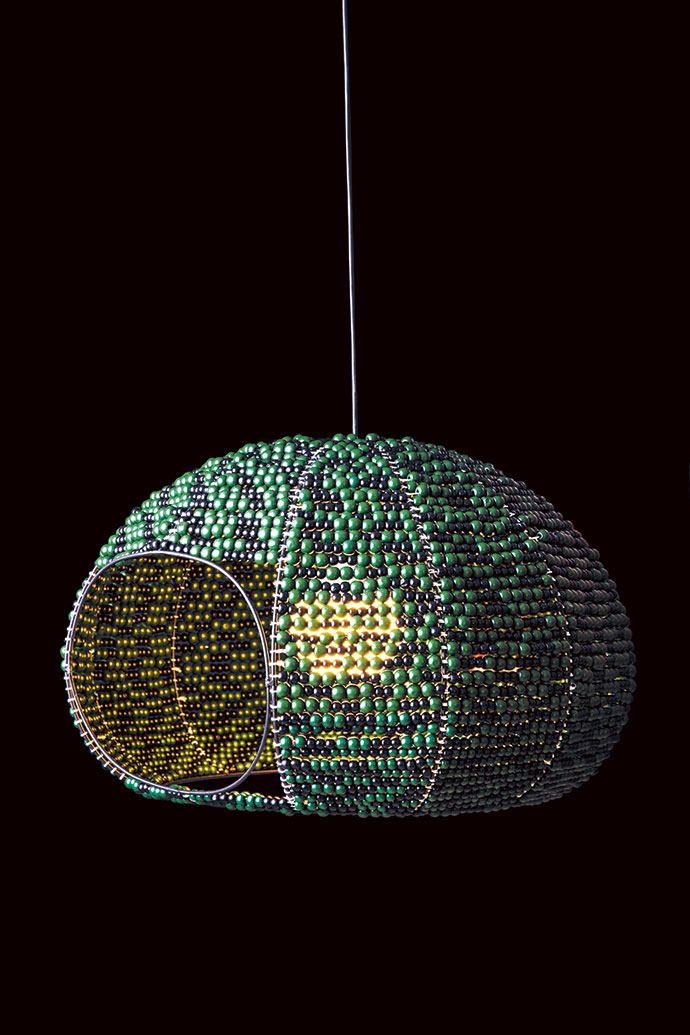 The Weavers' Nest pendant (450mm x 550mm), R5 710