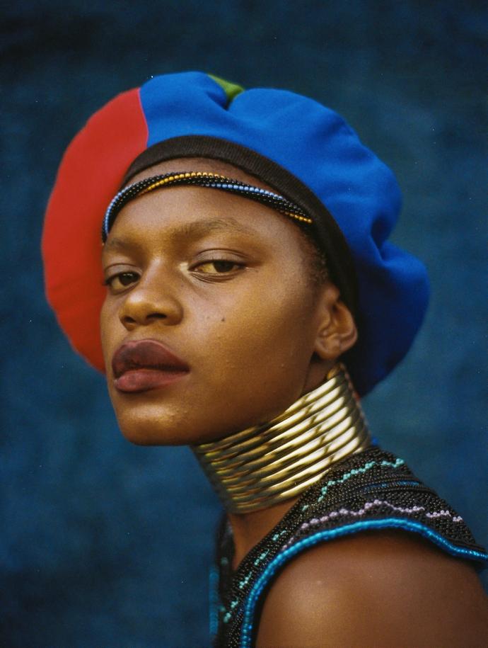 Zana Masombuka –  Namba S'khambe, 2019. 33.1 cm x 23.4 cm. Presented bythe artist.
