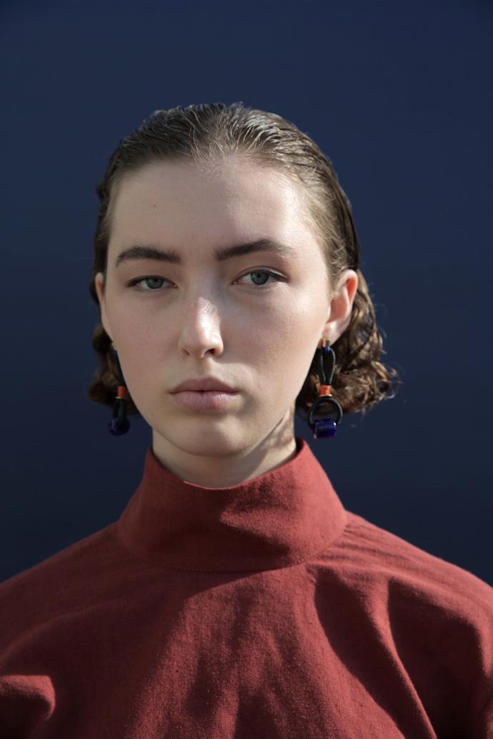 Bastet earrings