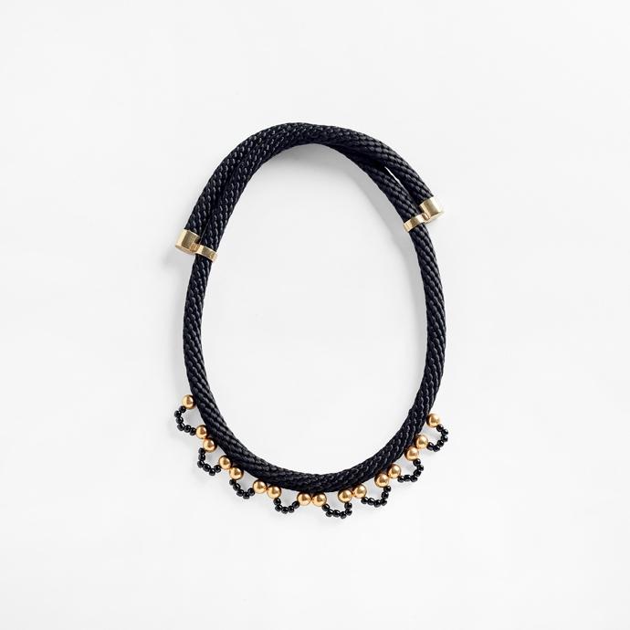 Delphi wrap necklace
