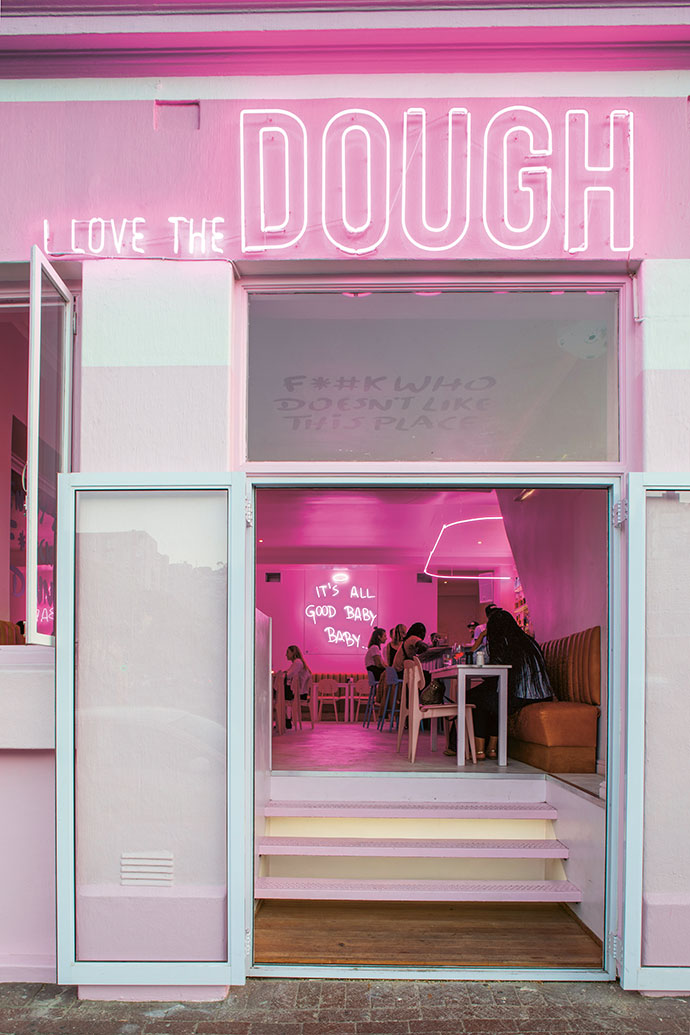 i love the dough