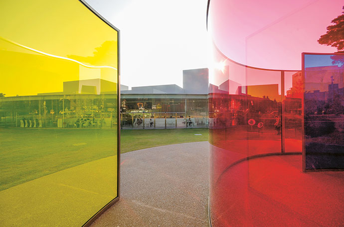 21st Century Museum of Contemporary Art, in Kanazawa City, Japan, also by Sejima and SANAA.