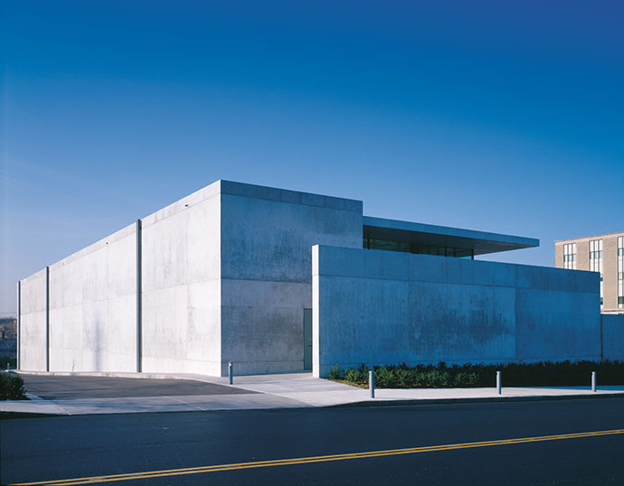 Tadao Ando's Pulitzer Foundation For The Arts building in St Louis.