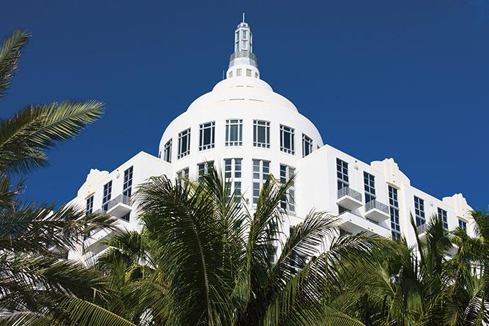 Loews Miami Beach Hotel in South Beach, Miami.