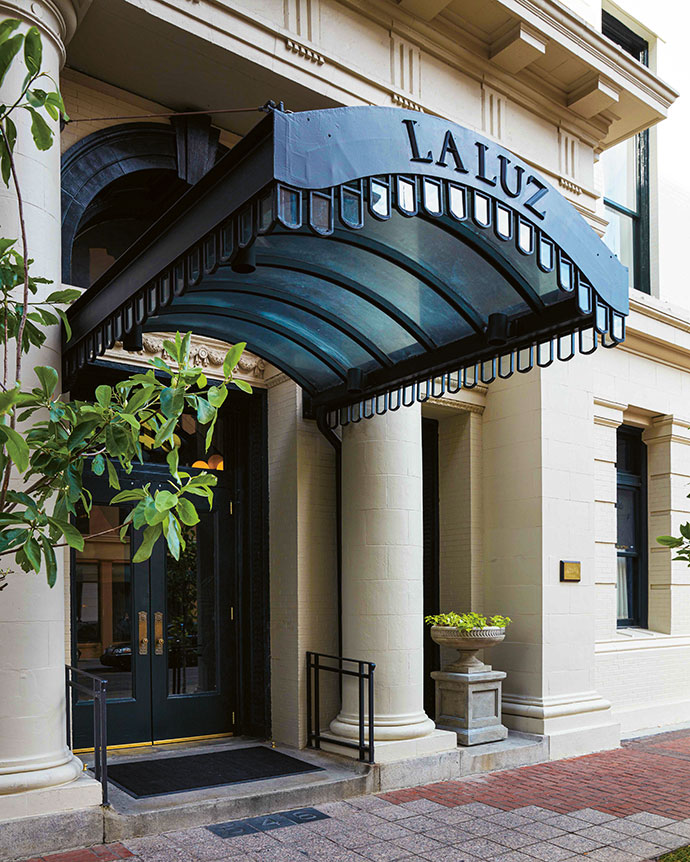 Situated mere metres from the historic Lafayette Square and housed in a former City Hall annex, the hotel's exterior reveals little of its quirky interiors.