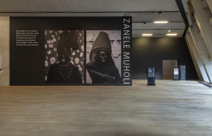 Installation Photograph of Zanele Muholi Exhibition, Tate Modern, November 2020.
