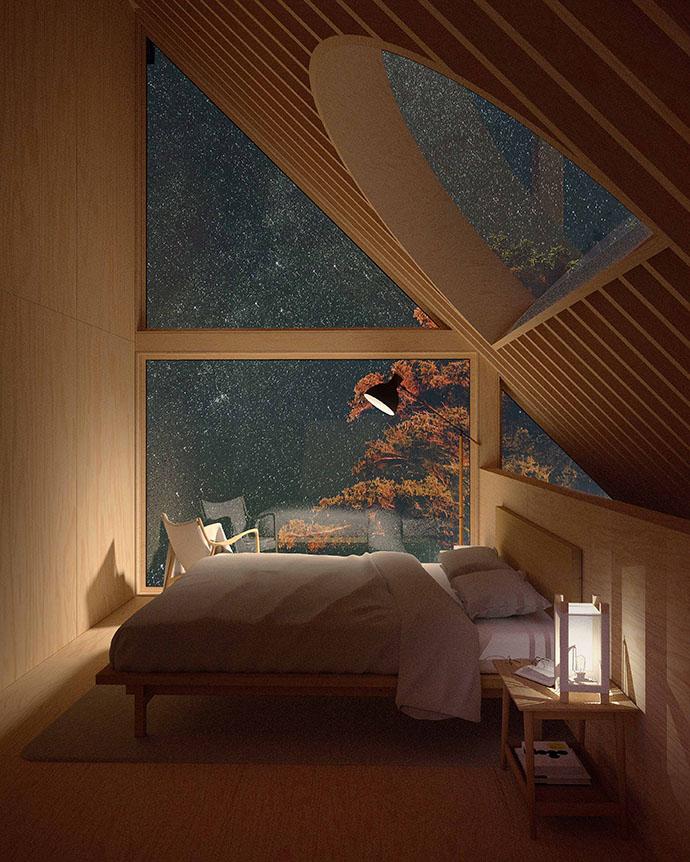 Dream Sky Bed