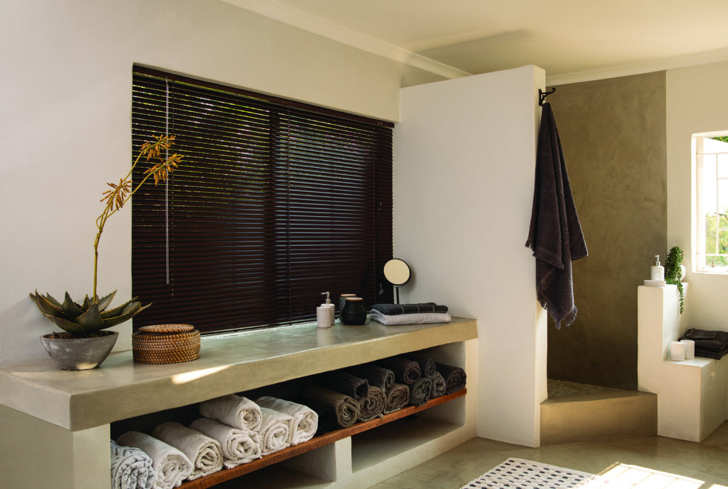 decorland blinds in a bathroom