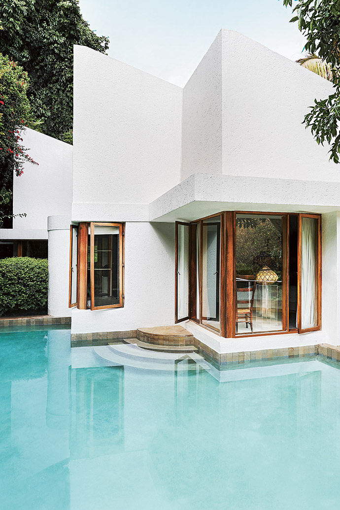 Pancho Guedes's African Modernist aesthetic is evident in this house he designed in Forest Town, Joburg.