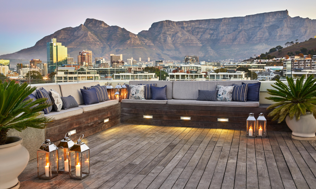 Experience ultra-luxury at The One Above, the resort's double story penthouse, with countless sophisticated indoor and outdoor spaces and unparalleled 360-degree views of Cape Town.