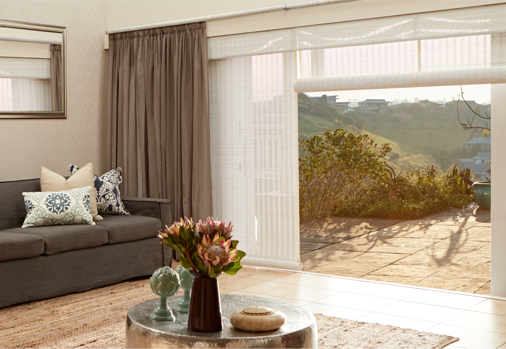 decorland blinds in a lounge
