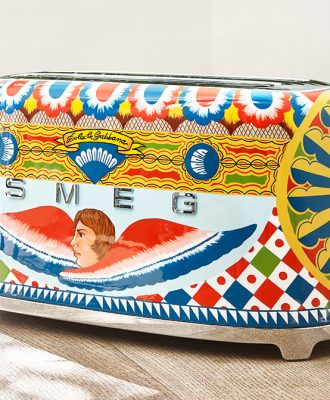 Smeg Dolce&Gabbana 4-slice toaster