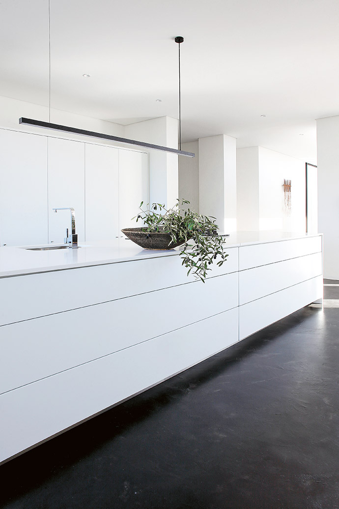 """Always averse to anything """"trendy"""", Evi's ethos is timeless, simple design."""