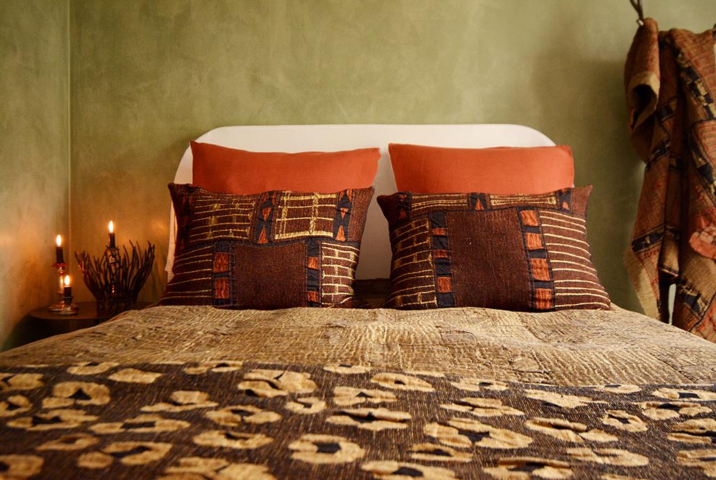 African-Jacquard Metallic Bogolan Collection