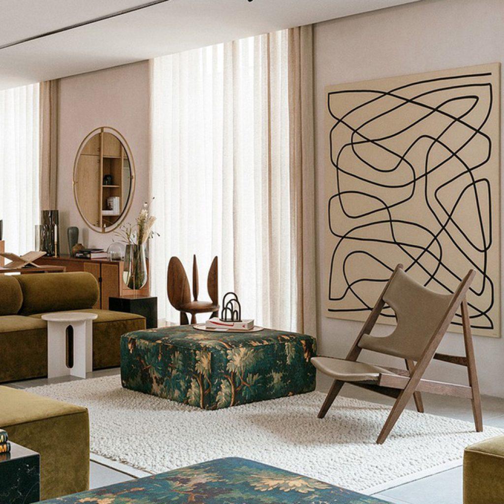 12 Designer Lounge Chairs