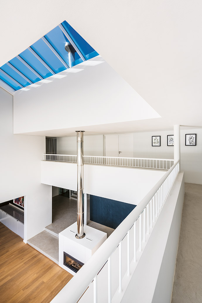 Ryan and Samantha's light-filled home fits their lifestyle: they have a closeknit family and they entertain often, so the open-plan design was right for them.