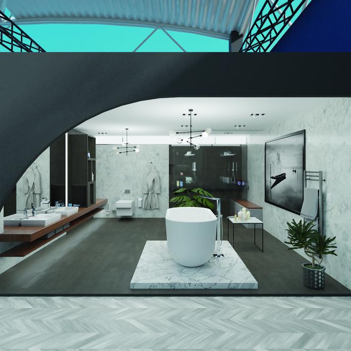 GROHE VR SHOWROOM - High end bathroom