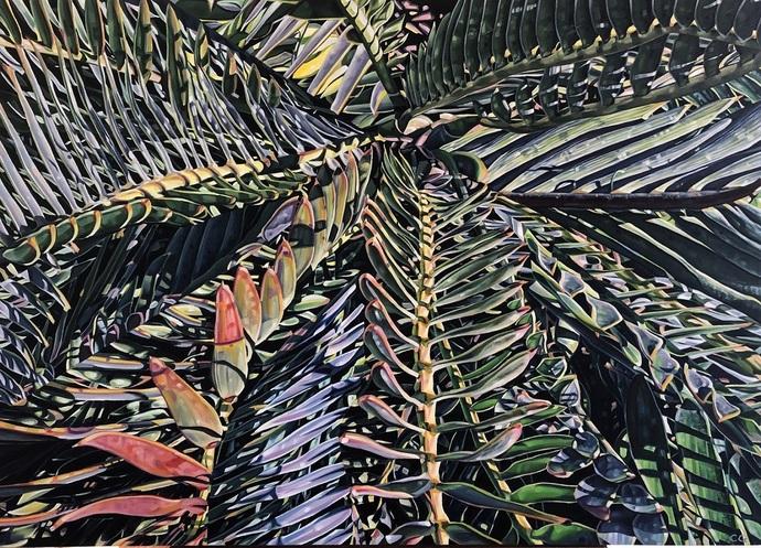 Interrupted no1 2020 Oil on Canvas 1m x 14mJPG