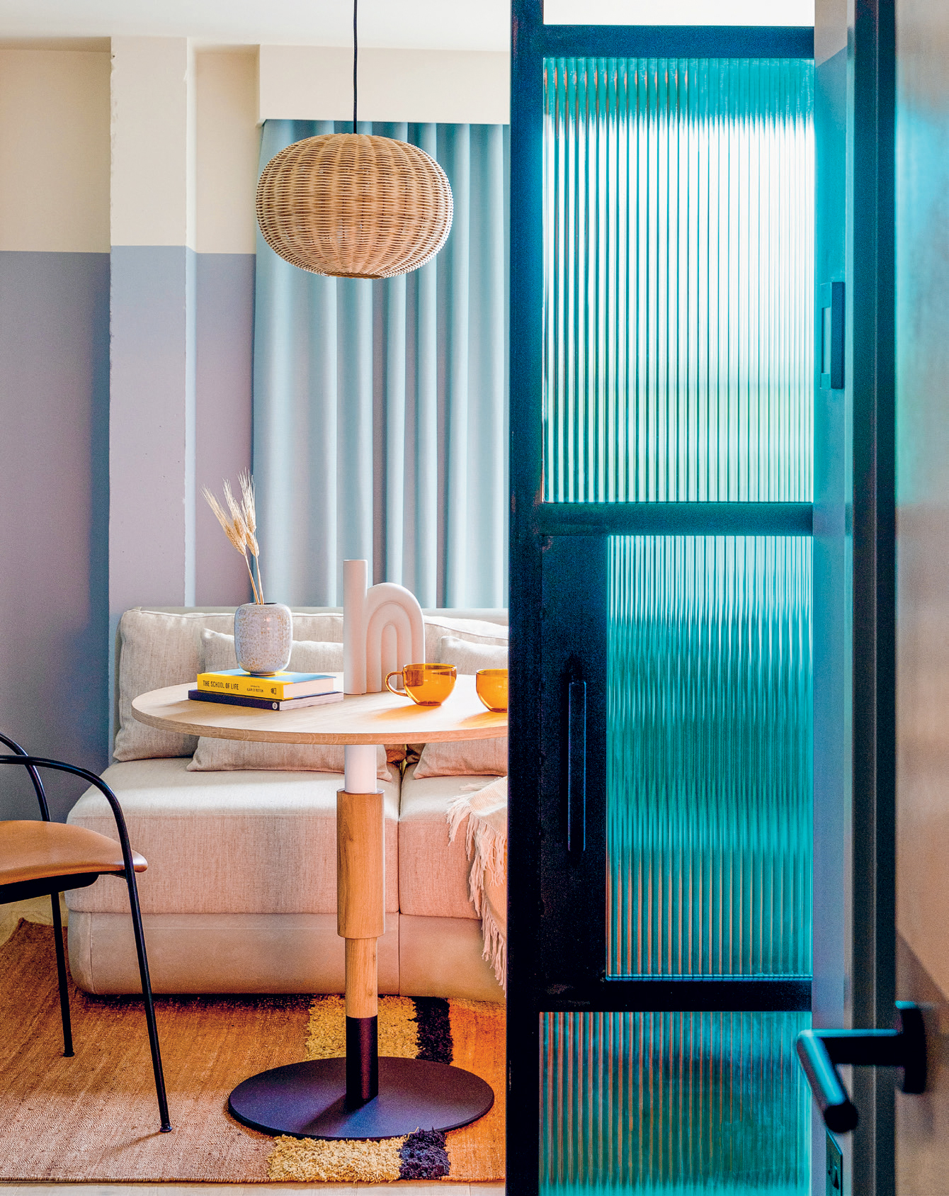 The bar and dining offerings reflect the tastes of the area; the apartments are not huge, but clever design and decor make the most of the dimensions; bedrooms are beautifully appointed; each apartment features a kitchen spacious enough to cook in.
