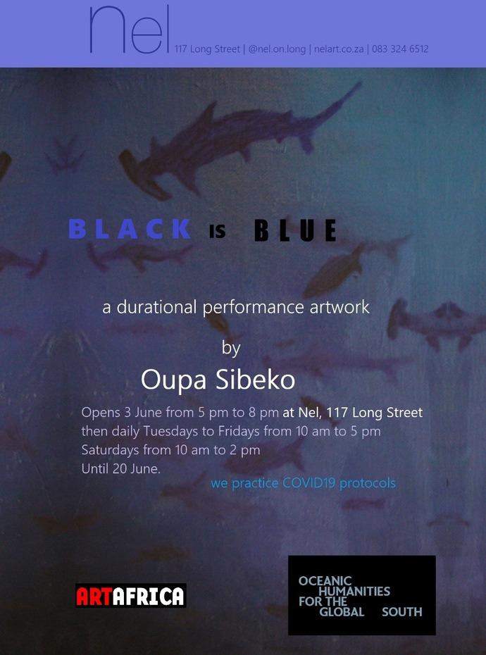 Oupa Sibeko Black is Blue_