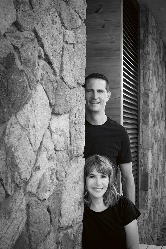 Grete van As and Johan Wentzel are partners in business and in life.