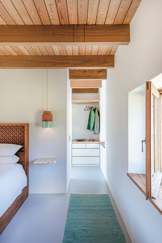 Timber accents throughout the dwellings result in continuity and warmth.