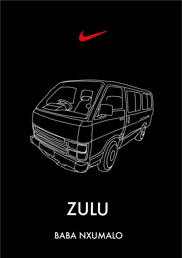 Graphic Design DI Emerging C Ntobeko Nxumalo - Nike Zulu baba nxumalo