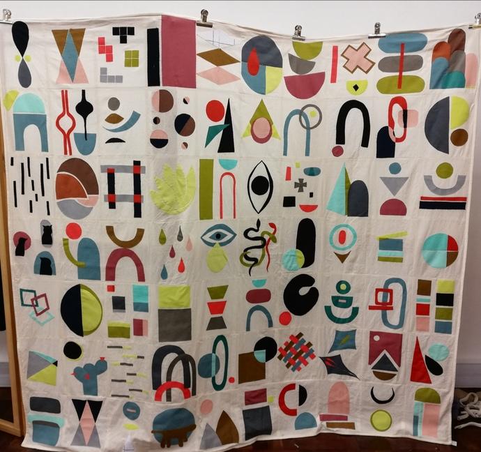 Janice Codron's quilt.