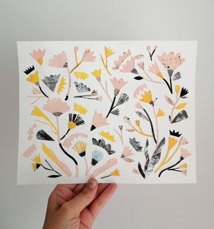 botany collage