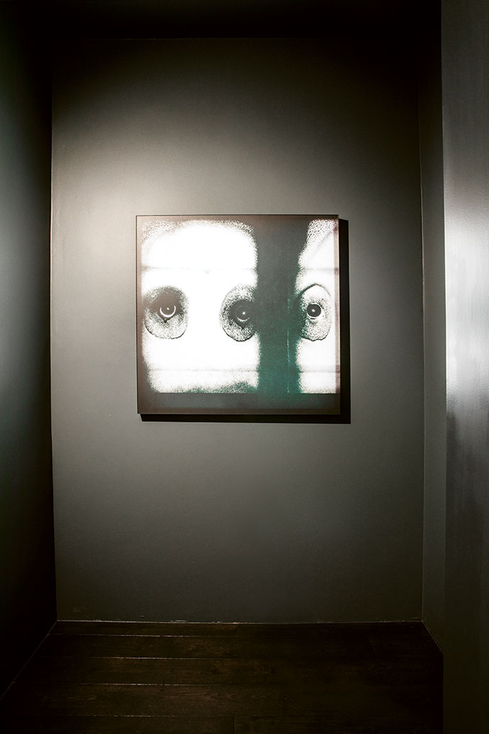 """A work from Roger Ballen's """"Theatre of Apparitions""""."""