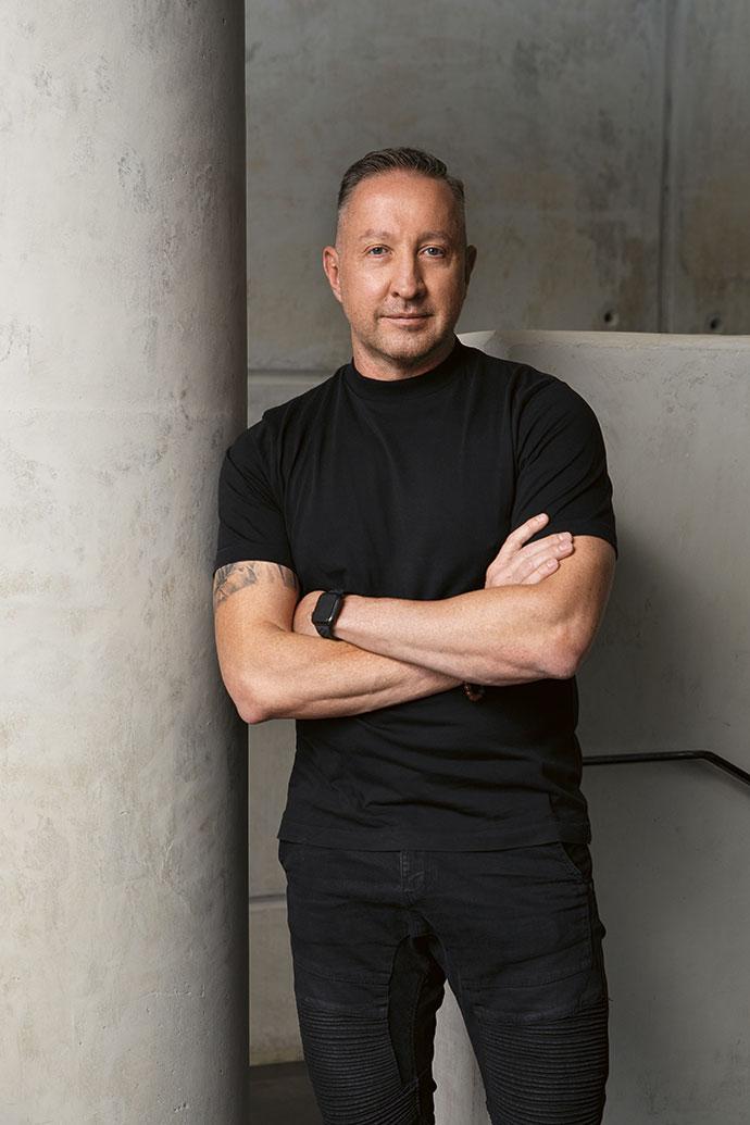 Architect Joe van Rooyen of JVR Architects.