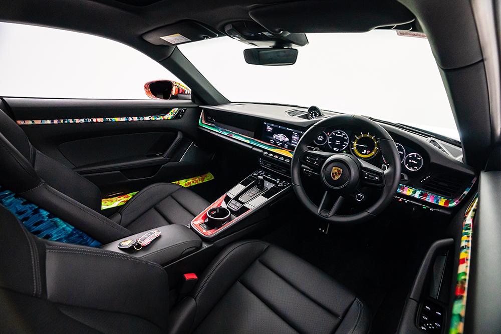 Customised Porsche by Nelson Makamo